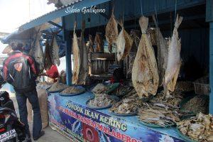 ikan asin, pantai bengkulu
