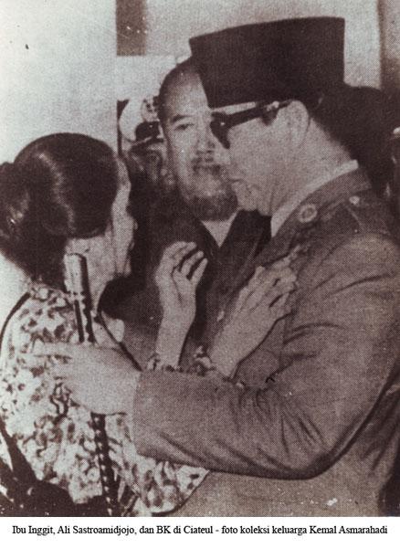 Inggit, Ali Sastroamijoyo, dan Bung Karno di Ciateul, soekarno, sukarno