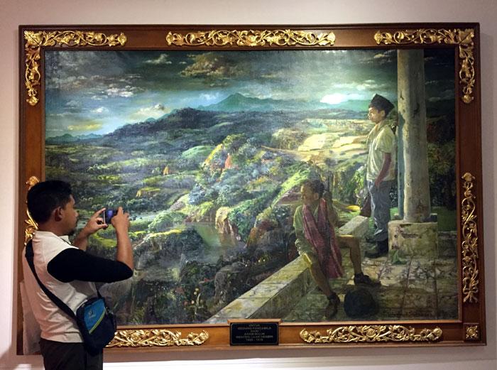 lukisan S. SUDJOJONO, seniman S. SUDJOJONO, pelukis S. SUDJOJONO