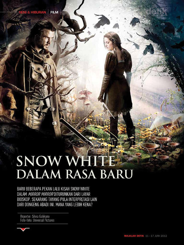 snow white and the hunts man
