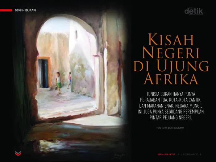 kisah negeri di ujung afrika, tunisia