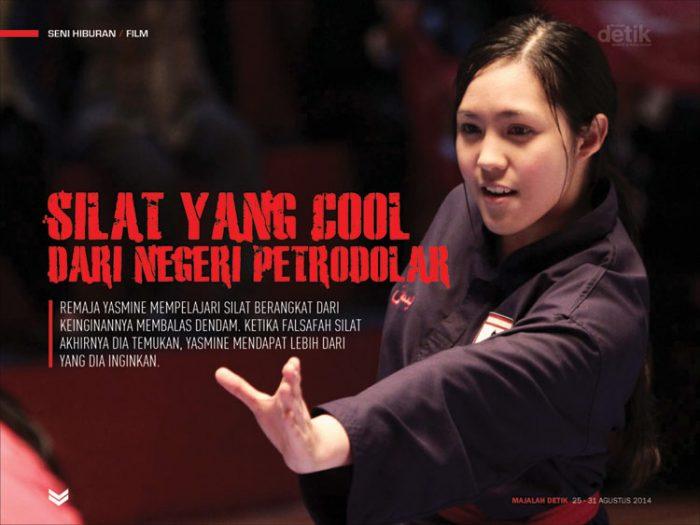 Liyana Yus, silat yang cool dari negeri petro dolar, yasmine movie, film yasmine