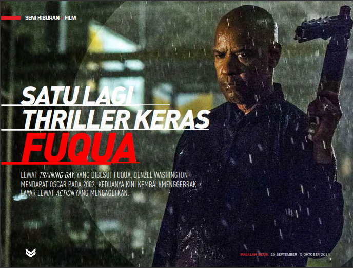 film The Equalizer, The Equalizer movie, Antoine Fuqua, Denzel Washington