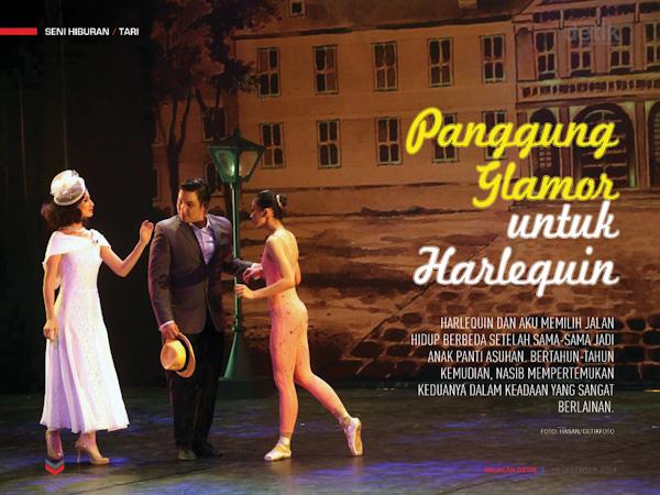 Panggung Glamor untuk Harlequin