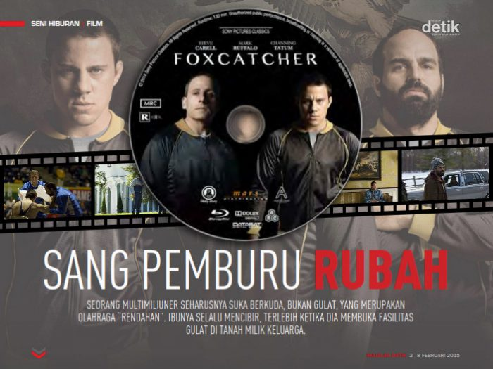 foxcathcer movie, film foxcatcher