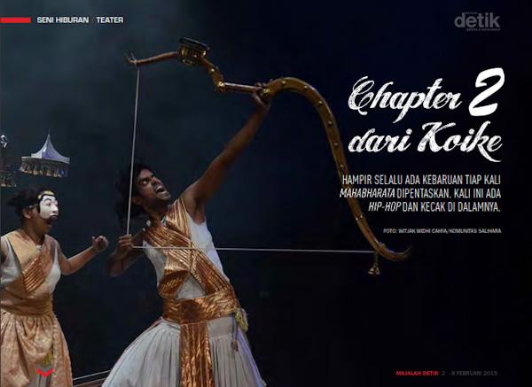 mahabharata, chapter 2 dari koike