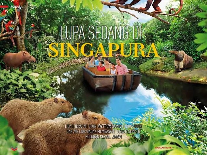 wildlife singapore, margasatwa singapura