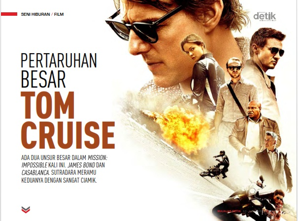 Mission Impossible Rogue Nation, tom cruise