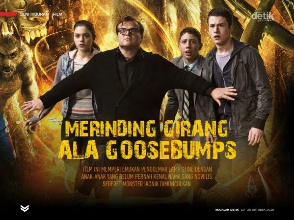 Goosebumps, film Goosebumps, Goosebumps movie