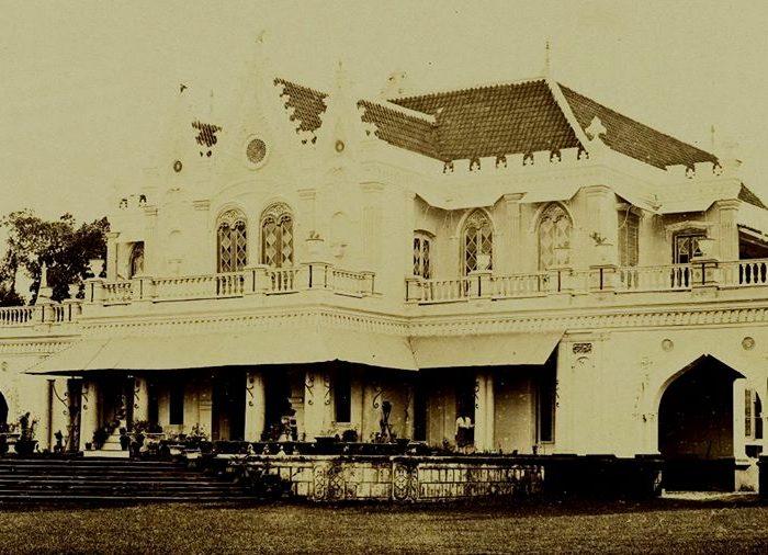 Villa pelukis Raden Saleh Sarif Bustaman Cikini, Batavia