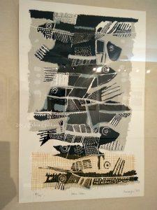 Ikan-ikan, sunaryo, cetak saring