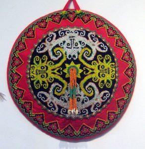 Cahung Inu Aoheng, topi Dayak