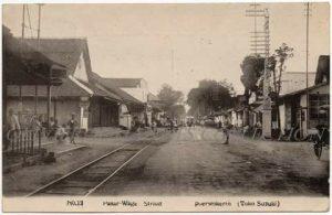 Jalan Sudirman, Pasar Wagestraat, Purwokerto