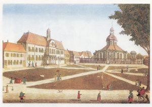 gereja kubah batavia, balai kota batavia, staadhuis batavia