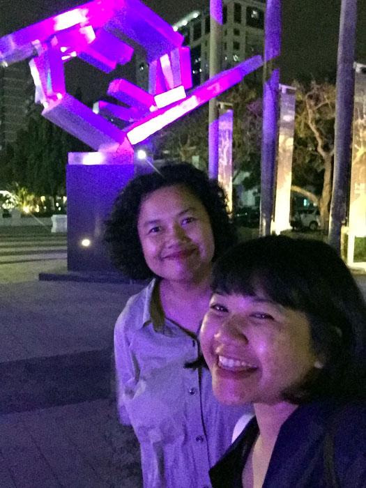 galeri nasional, transisi lini, galeri nasional indonesia, momon