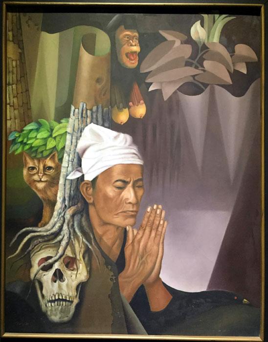 lukisan SUDARISMAN, seniman SUDARISMAN, pelukis SUDARISMAN