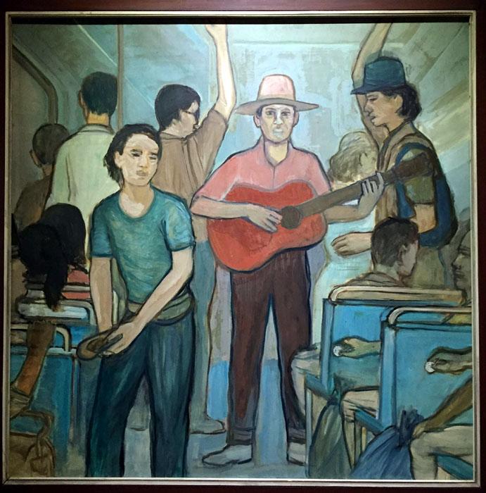 lukisan SUNARTO PR, seniman SUNARTO PR, pelukis SUNARTO PR