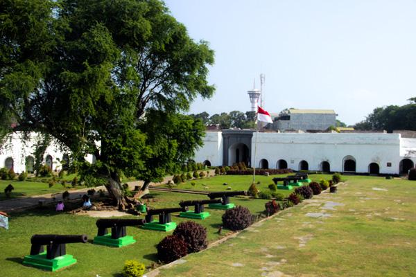 Benteng Marlborough, Bengkulu
