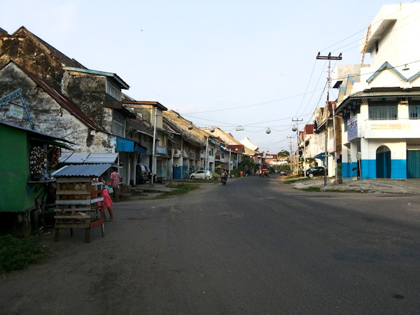 Kampung Cina, Benteng Marlborough, Bengkulu