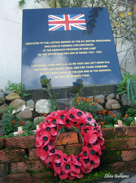 Kundasang War Memorial, taman peringatan korban Perang Dunia II, 26 November 2010. (Foto Silvia Galikano)