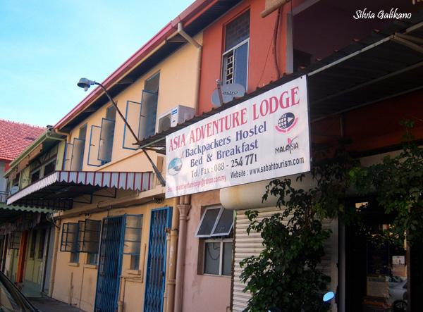Asia Adventure Lodge di Kota Kinabalu milik Sheila, 26 November 2010. (Foto Silvia Galikano)